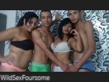 WildSexFoursome
