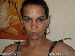 Start VIDEO CHAT with LadyWOW30