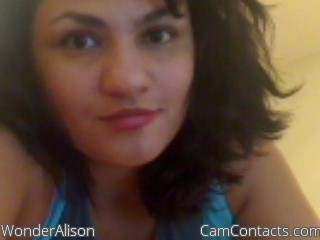 Start VIDEO CHAT with WonderAlison