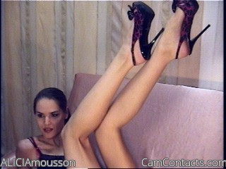 Start VIDEO CHAT with ALICIAmousson