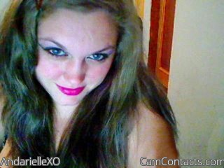 Start VIDEO CHAT with AndarielleXO