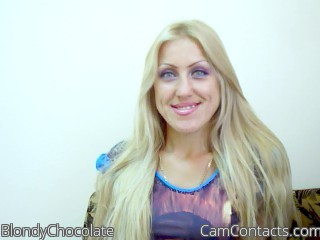 Start VIDEO CHAT with BlondyChocolate