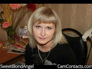 Start VIDEO CHAT with SweetBlondAngel