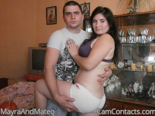 Start VIDEO CHAT with MayraAndMateo