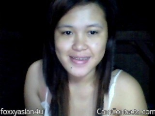 Start VIDEO CHAT with foxxyasian4u