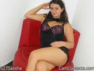 Start VIDEO CHAT with S27Sassha