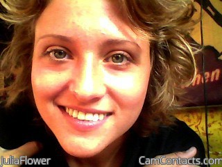 Start VIDEO CHAT with JuliaFlower