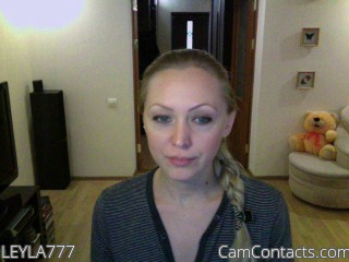 Start VIDEO CHAT with LEYLA777