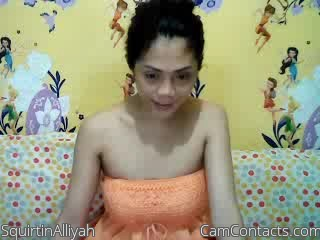 Start VIDEO CHAT with SquirtinAlliyah