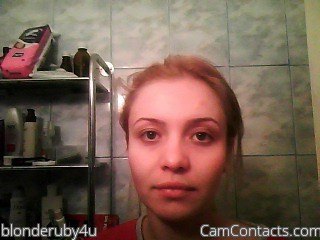 Start VIDEO CHAT with blonderuby4u