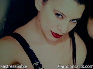 Start VIDEO CHAT with MistressSable