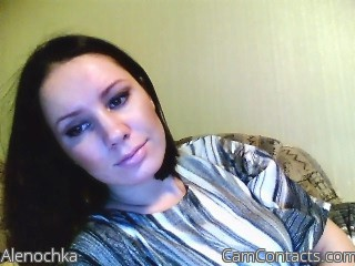 Start VIDEO CHAT with Alenochka