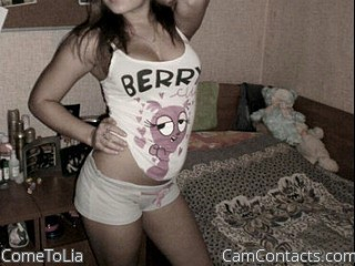 Start VIDEO CHAT with ComeToLia
