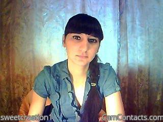 Start VIDEO CHAT with sweetcreation1