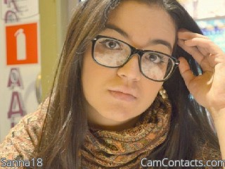 Start VIDEO CHAT with Sanna18