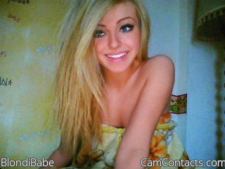 Start VIDEO CHAT with BlondiBabe