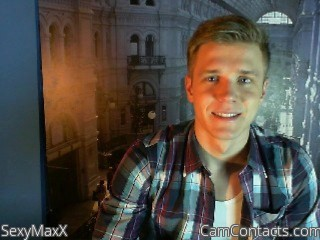 Start VIDEO CHAT with SexyMaxX