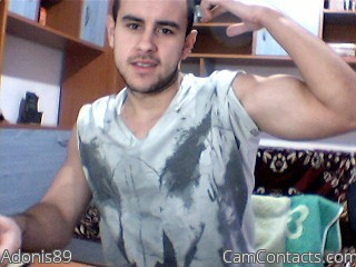 Start VIDEO CHAT with Adonis89
