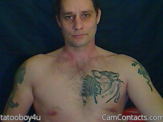Start VIDEO CHAT with tatooboy4u