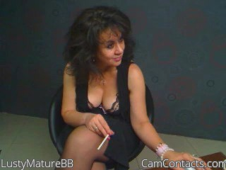 Start VIDEO CHAT with LustyMatureBB