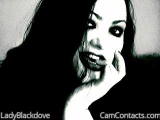 Start VIDEO CHAT with LadyBlackdove