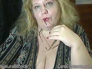 Start VIDEO CHAT with NaturalBlonde