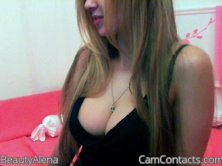 Start VIDEO CHAT with BeautyAlena