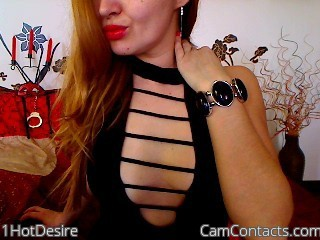 Start VIDEO CHAT with 1HotDesire