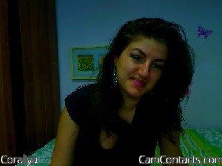 Start VIDEO CHAT with Coraliya