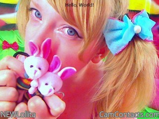 Start VIDEO CHAT with NEWLollita