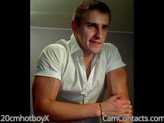 Start VIDEO CHAT with 20cmhotboyX