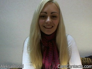 Start VIDEO CHAT with AleksaBlond