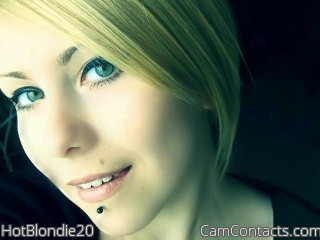 Start VIDEO CHAT with HotBlondie20