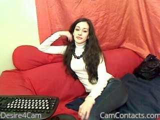 Start VIDEO CHAT with Desire4Cam