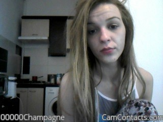 Start VIDEO CHAT with 00000Champagne