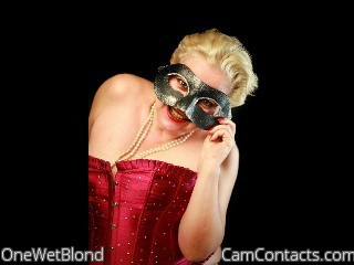 Start VIDEO CHAT with OneWetBlond