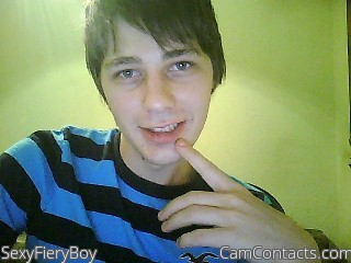Start VIDEO CHAT with SexyFieryBoy