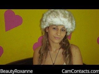Start VIDEO CHAT with BeautyRoxanne