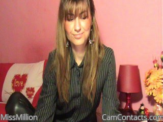 Start VIDEO CHAT with MissMillion