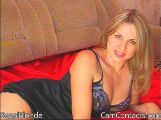 Start VIDEO CHAT with RegalBlonde
