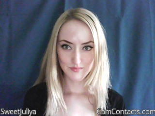 Start VIDEO CHAT with SweetJuliya