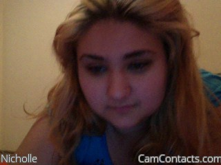 Start VIDEO CHAT with Nicholle