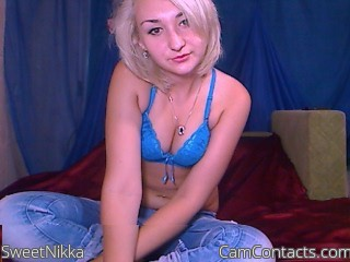 Start VIDEO CHAT with SweetNikka