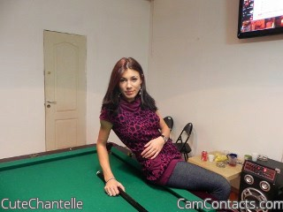 Start VIDEO CHAT with CuteChantelle