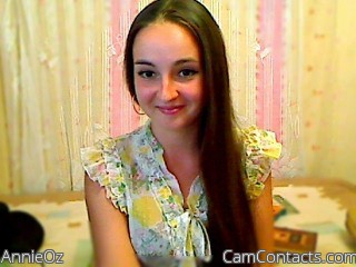 Start VIDEO CHAT with AnnieOz