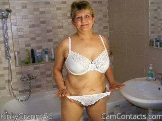 Start VIDEO CHAT with KinkyGranny56