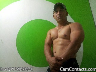 Start VIDEO CHAT with MANPOWERSEX