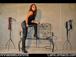 Start VIDEO CHAT with AnnabelleDomme