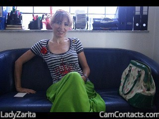 Start VIDEO CHAT with LadyZarita