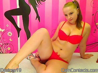 Start VIDEO CHAT with Desiree19